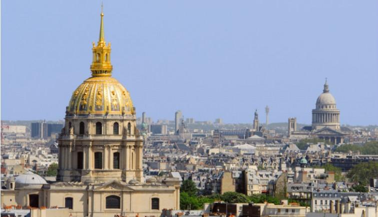 Quartier invalides Tour Eiffel
