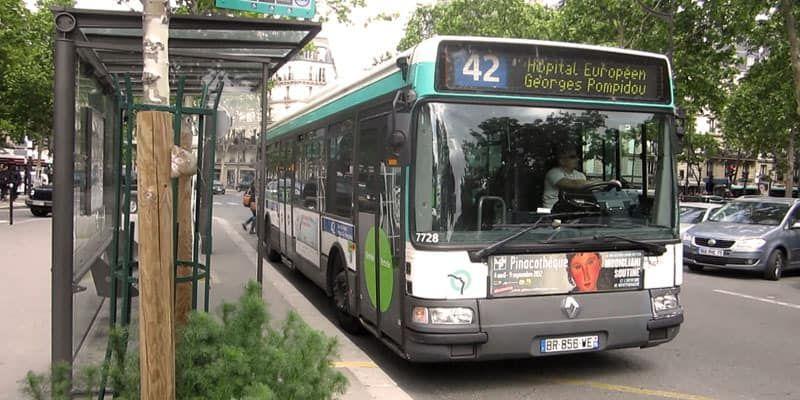 bus metro Paris